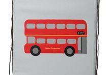 London / Cartoon images of iconic London
