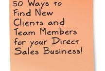 Direct Sales Ideas and Inspiration