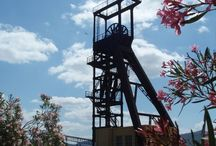 La Grande Miniera di Serbariu e il Museo del Carbone in Sardegna / parte del Parco Geominerario della Sardegna  il sito è posto sotto gli auspici dell'UNESCO