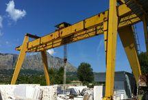 Segheria M3P Marmi / In questa bacheca vi facciamo vedere il processo lavorativo nella nostra segheria sita ad Ausonia (Frosinone, Lazio, Italia)