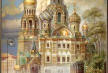 архитектура - роспись