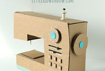 Cardboard Crafts / Fun DIY crafts, tutorials and inspiration to make from cardboard - for kids and grown ups! Toys, decorations, and general cardboard fun!
