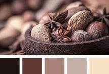 Color Palet Coffe