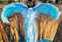 Graffitifigurer, muralmålningar och streetart. / Graffitifigurer, streetart och muralmålningar