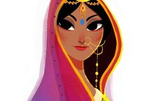 Indian Art Style