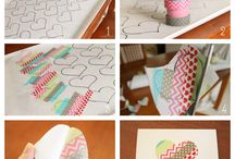 Washi tape creations