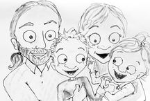 Lifeandkids / What does everydaylife with kids look like... In the real world? I post a handmade cartoon about it every day.