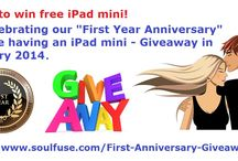 soulFuse.com - Promotions and Giveaways! / Find information about our promotions and giveaways for soulFuse.com.