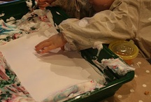 Mark Making / Mark making with any part of the body on any type of surface. Activities, lessons and fun for children