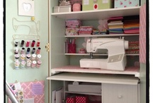 Sewing cupboard