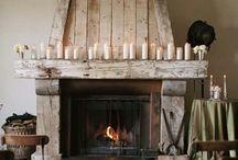 Give me a fireplace