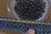 Strikke med perler