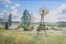 Paintings by Leonora de Lange / Oil paintings