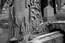 Crypts, graves, and cemeteries