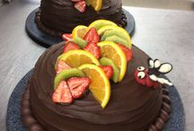 My cake! / From my sweet kitchen...