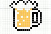 pixel arts minecraft