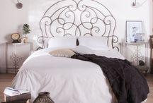 Tête de lit # fer