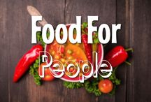 Food For People / Even Chuck can't eat Good Luck Chuck for every meal. Here we share our favorite healthy recipes for every meal!