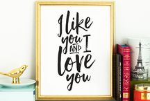Salt and Paper Printables / Printable art available from Salt and Paper - saltandpaper.com