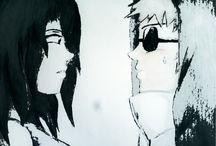 Naruto historia Sasuke, mako, sakura y shino ...
