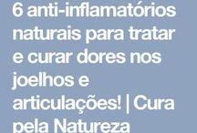 ANTI-INFLAMATÓRIO NATURAIS