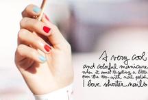 esmaltes & nail art / Inspirações para unhas bem feitas / by Marina Mendes