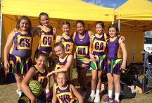 My netball teams
