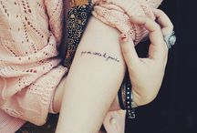 Tattoos I like / by Victoria Jean