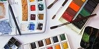 Art Supplies / Art supplies that I want, need or have already.  From paints and brushes to the latest watercolor mediums and tools of the trade.  Metallics and more!  Posted by Penny Lee StewArt http://www.dailypaintworks.com/buy/auction/204487
