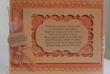 Special Celebration Cards / Cards for those special occasions-  christenings, communions, confirmations and weddings