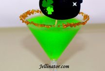 St. Patrick's Day Jello Shots and Party Recipes / All the party recipes and party ideas you need for the perfect St. Patrick's Day! Traditional recipes passed down through the family for years!