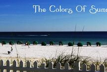 The Colors of Summer / http://www.mstoneandtile.com/design-trends/the-colors-of-summer/