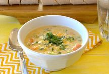 Vegan yummies- soups and stews / by Melanie Shearer