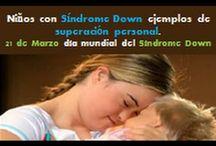 Ninos con Sondrome Down ejemplos de superacion personal