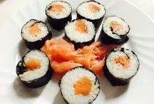 Jídlo sushi