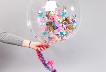 """Confetti / Fun ways to package confetti for guests to throw after """"The Kiss"""""""