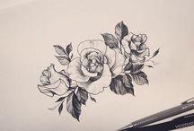 Tetování Růže