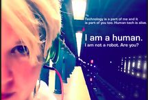 #RobotShack / My name is Andrea Cook. I am a visual, creative, innovative human. I have written a book, a narrative on human technology. The story is called, Robot Shack. Enjoy.