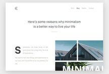web minimalism