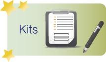 Kits  / Los kits son ideas de proyecto para llevar a la práctica, diseñadas por equipos pedagógicos. Están organizados por áreas y aportan información sobre el nivel de dificultad, la edad de los alumnos y la duración estimada. Además, es posible valorarlos