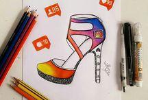 scarpe da disegnare