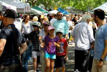 Festivals / Double Bay Festival held on the 1st Sunday in November.  Each year the momentum builds!