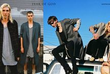 """Men's Street Style / Street signature aesthetic for men, """"chic grunge,"""" using layering and oversizing silhouettes lending a contemporary vibe to late 20th century-inspired threads"""