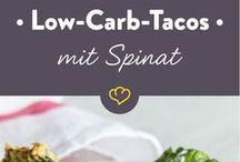 tacos mit Spinat abendbrot