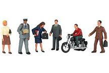 Scale Figures & People / Micro-Mark's premium scale figure sets and kits include everything you need to craft realistic and detailed model scenery. Our HO scale figures include HO scale people and animals. Whether its mechanics, policemen, cows, dogs or strolling commuters, we have the scale figures to make your model come alive! We're also proud to carry premier Bachmann figures.