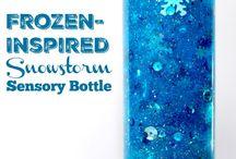 Calm mind sensory bottles