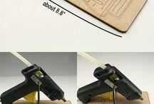 porta pistola de silicons