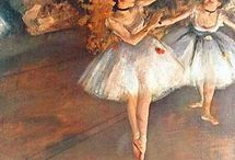 Ballet paintings / Bailado na pintura
