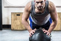 medicine ball - ćwiczenia z piłką lekarską
