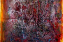 Modern abstract paintings for sale. / Original abstract art for sale.